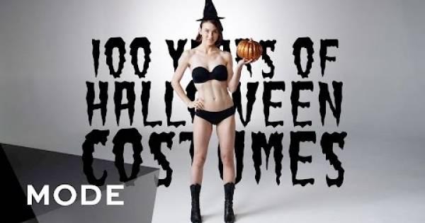 Halloween: 100 años de disfraces resumidos en tres minutos
