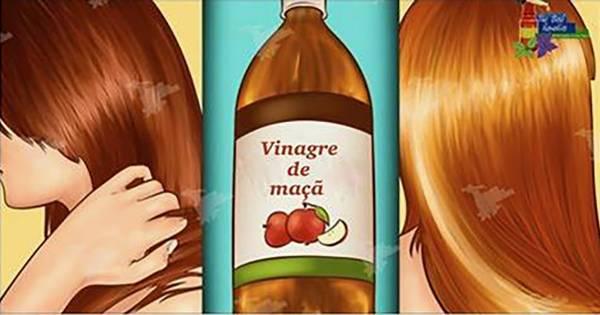 Aquí está cómo lavar su cabello con vinagre de manzana – todos van a querer saber su secreto