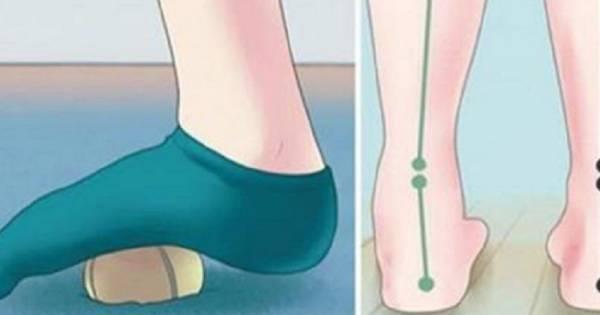 Cura el dolor de pies, cadera y rodillas en minutos con estos 5 ejercicio