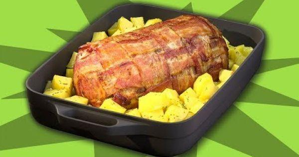Asado de carne molida con tocino: una receta para la próxima comida especial