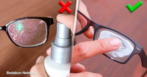 7 trucos que los que usan lentes deben saber YA. Etiqueta a un amigo que use lentes