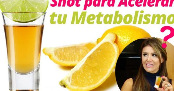 Este traguito metabólico acaba con la barriga