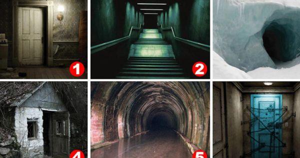 Test de un gran psicólogo: ¿En cuál foto tienes más MIEDO de entrar?