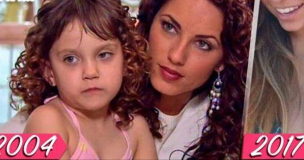 Así luce la sobrina de rubí 13 años después. Nunca volverá a salir en tv