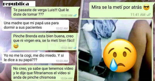Abusaron de ella  La filmaron y compartieron el video por WhatsApp.