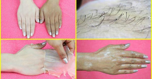 Única crema de depilación natural que elimina todo el vello de la piel y la blanquea. Es alucinante.